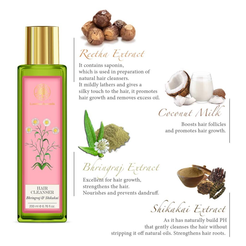 Forest Essentials Hair Cleanser